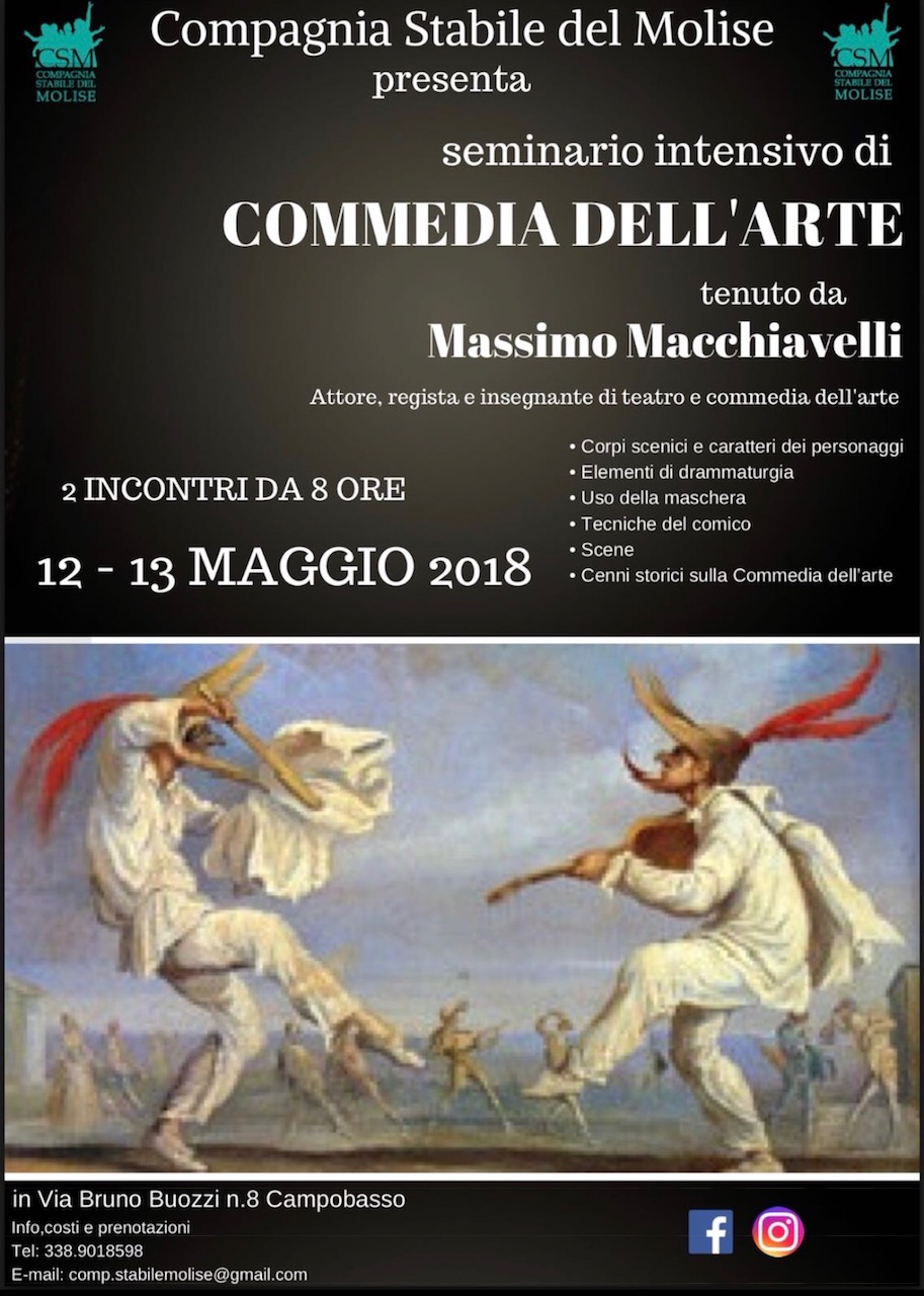Seminario intensivo di commedia dell'arte